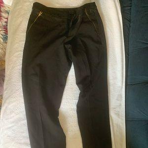 Club Monaco dress pants leather panel
